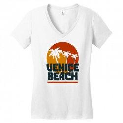 venice beach Women's V-Neck T-Shirt | Artistshot