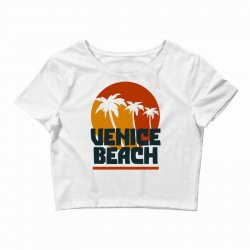 venice beach Crop Top | Artistshot