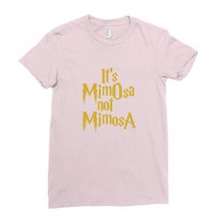 it's mimosa not mimosa Ladies Fitted T-Shirt | Artistshot