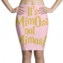 it's mimosa not mimosa Pencil Skirts | Artistshot