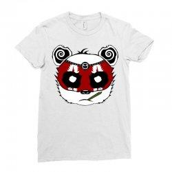 Panda Bear - Samurai Ladies Fitted T-Shirt | Artistshot