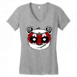 Panda Bear - Samurai Women's V-Neck T-Shirt | Artistshot