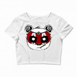 Panda Bear - Samurai Crop Top | Artistshot
