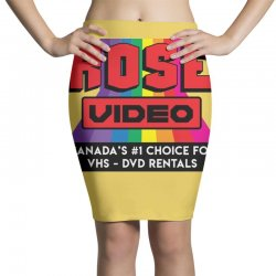rose video logo Pencil Skirts | Artistshot