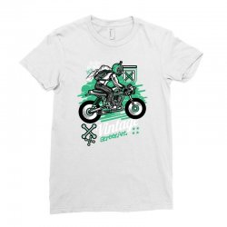 vintage racer Ladies Fitted T-Shirt | Artistshot
