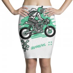 vintage racer Pencil Skirts | Artistshot