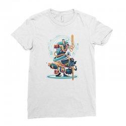 virtual reality Ladies Fitted T-Shirt | Artistshot