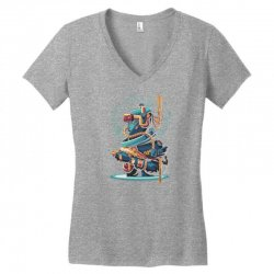 virtual reality Women's V-Neck T-Shirt | Artistshot