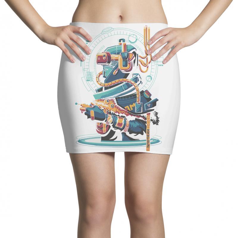 Virtual Reality Mini Skirts | Artistshot
