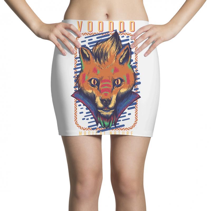 Voodoo Fox Mini Skirts   Artistshot