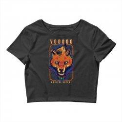 voodoo fox Crop Top   Artistshot