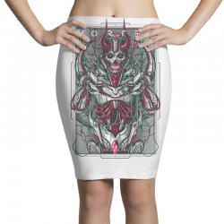 vortex 01   malevolent Pencil Skirts | Artistshot