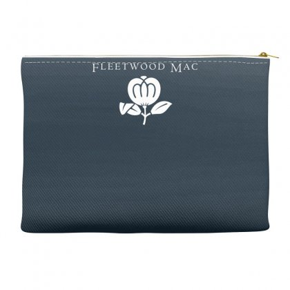 Fleetwood Mac Band Logo Accessory Pouches Designed By Thesamsat