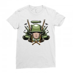 war Ladies Fitted T-Shirt | Artistshot