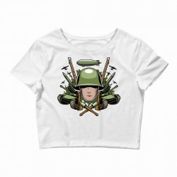 war Crop Top | Artistshot
