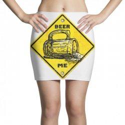 warning beer drinking Mini Skirts | Artistshot