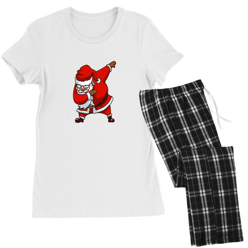 Dabbing Santa Women's Pajamas Set | Artistshot