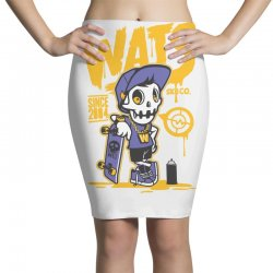 wats skull Pencil Skirts | Artistshot