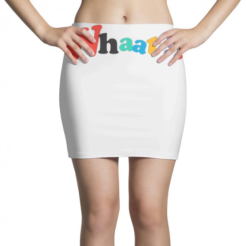 Whaat! Mini Skirts | Artistshot