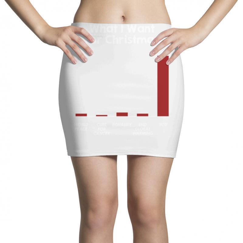 What I Want For Christmas Mini Skirts | Artistshot