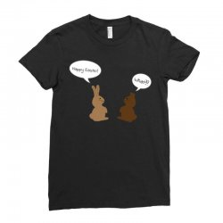 what! easter edition Ladies Fitted T-Shirt | Artistshot