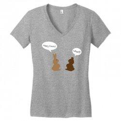 what! easter edition Women's V-Neck T-Shirt | Artistshot