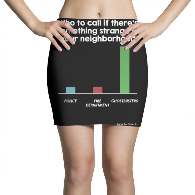 Who You Gonna Call Mini Skirts | Artistshot