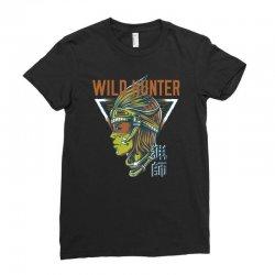 wild hunter light Ladies Fitted T-Shirt | Artistshot