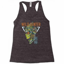 wild hunter light Racerback Tank | Artistshot
