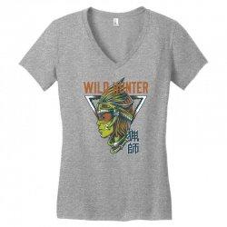 wild hunter light Women's V-Neck T-Shirt | Artistshot