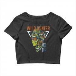 wild hunter light Crop Top | Artistshot