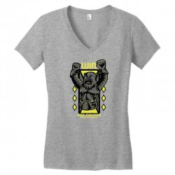win fight Women's V-Neck T-Shirt | Artistshot