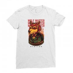 wolf master Ladies Fitted T-Shirt | Artistshot