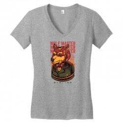 wolf master Women's V-Neck T-Shirt | Artistshot