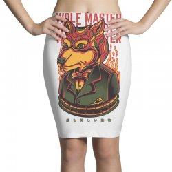 wolf master Pencil Skirts | Artistshot