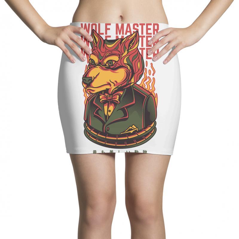 Wolf Master Mini Skirts | Artistshot