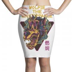 wolfie unstoppable Pencil Skirts | Artistshot