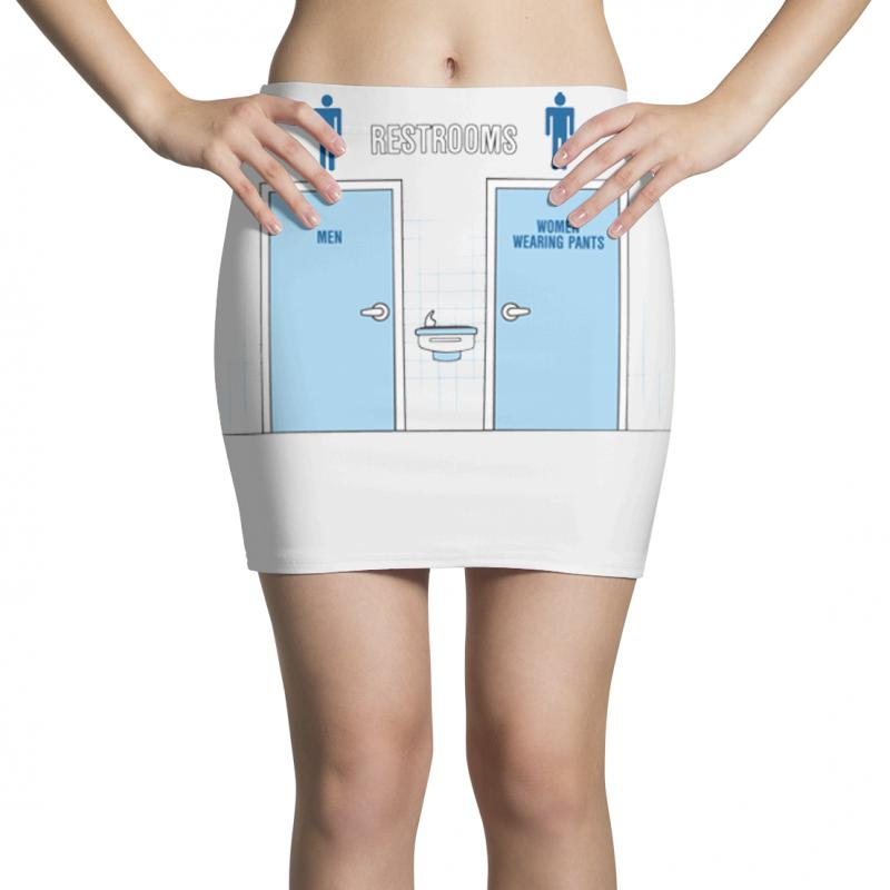 Women Wearing Pants Mini Skirts | Artistshot