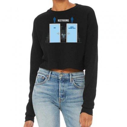 Women Wearing Pants Cropped Sweater