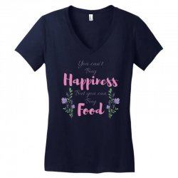 you can't buy happiness Women's V-Neck T-Shirt   Artistshot