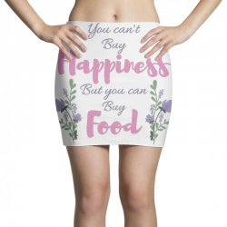 you can't buy happiness Mini Skirts   Artistshot