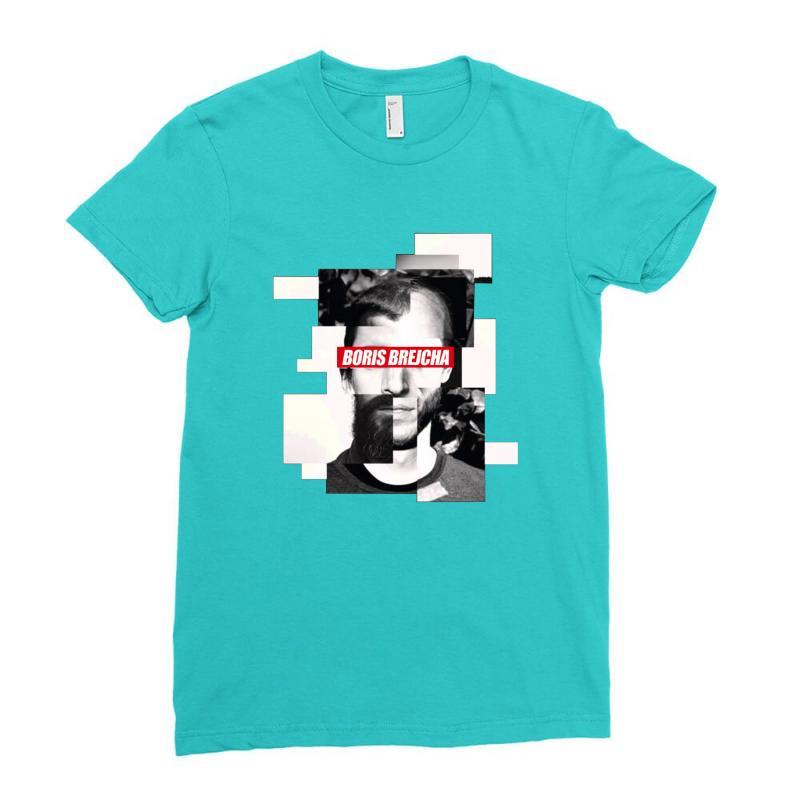 Boris Brejcha Logo Ladies Fitted T-shirt   Artistshot