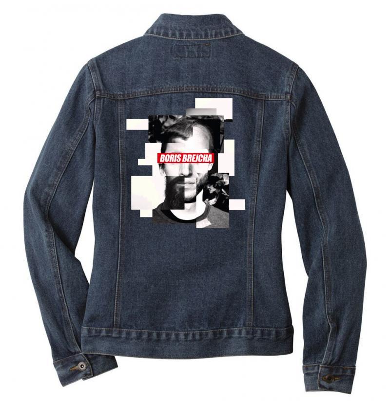 Boris Brejcha Logo Ladies Denim Jacket   Artistshot