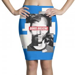 boris brejcha logo Pencil Skirts | Artistshot