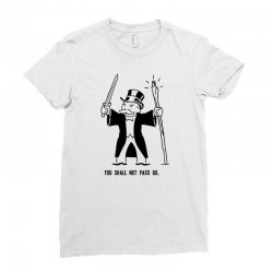 you shall not pass go Ladies Fitted T-Shirt | Artistshot