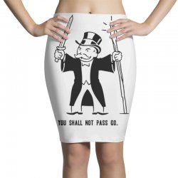you shall not pass go Pencil Skirts | Artistshot