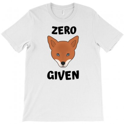Zero Fox Given 1 T-shirt Designed By Daudart