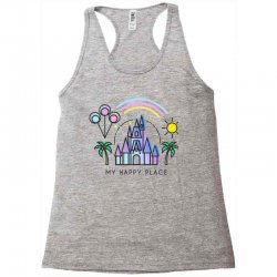 happiest castle on earth Racerback Tank | Artistshot