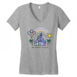 happiest castle on earth Women's V-Neck T-Shirt | Artistshot