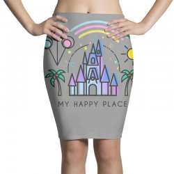 happiest castle on earth Pencil Skirts | Artistshot